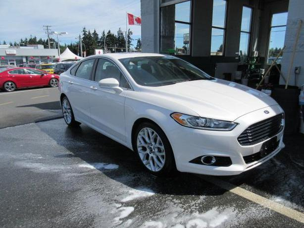 2013 ford fusion titanium turbo navi k2378 outside comox valley comox valley. Black Bedroom Furniture Sets. Home Design Ideas