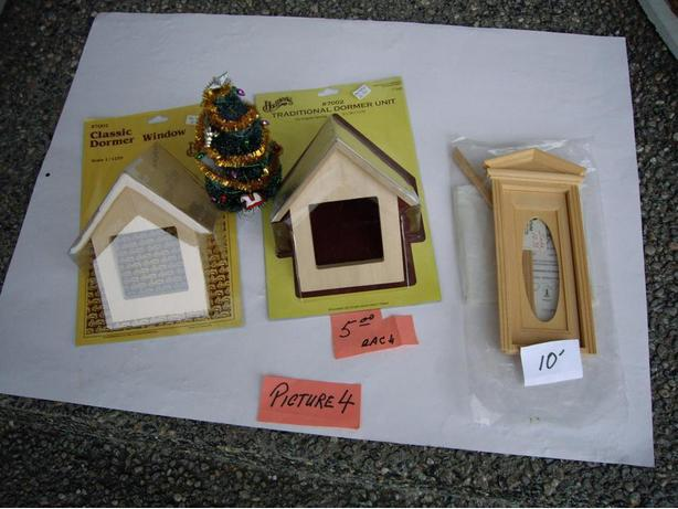 DOLL HOUSE BUILDING SUPPLIES