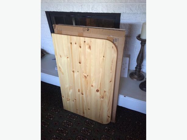 Ikea Folding Table Solid Wood Oak Bay Victoria