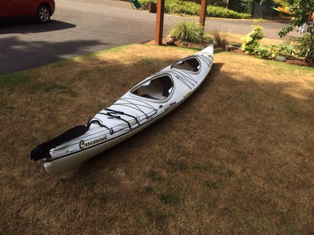 Current Designs Crosswind Tandem Sea Kayak Will Trade For
