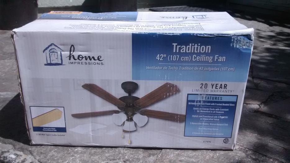 42 Ceiling Fan Oak Bay Victoria