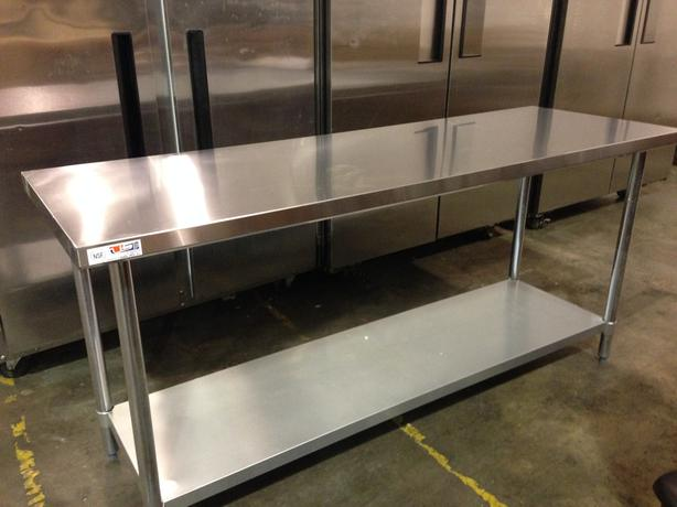 Burnaby restaurant equipment auction stainless tables
