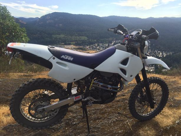 Used Ktm Street Legal Dirt Bike