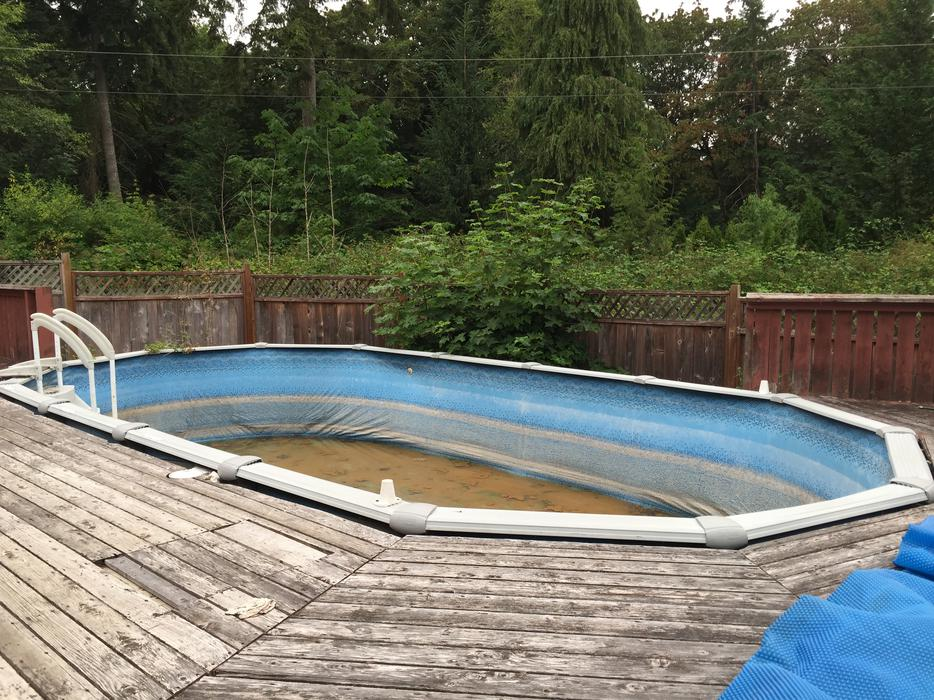 free pool amp deck outside nanaimo parksville qualicum