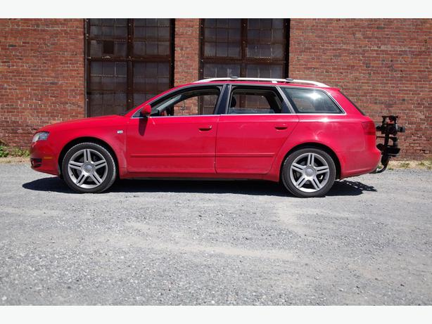 red 2007 audi a4 quattro wagon victoria city victoria. Black Bedroom Furniture Sets. Home Design Ideas