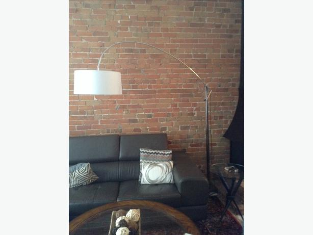 Structube Curva Floor Lamp Central Ottawa Inside