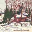 Original L. Fielding Downes Hand-Colored Greeting Cards c1950