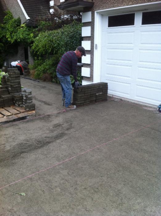 paving stone amp retaining wall installation and repair