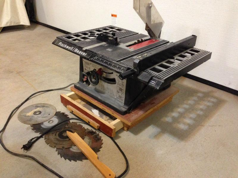 Rockwell 8 Inch Table Saw East Regina Regina