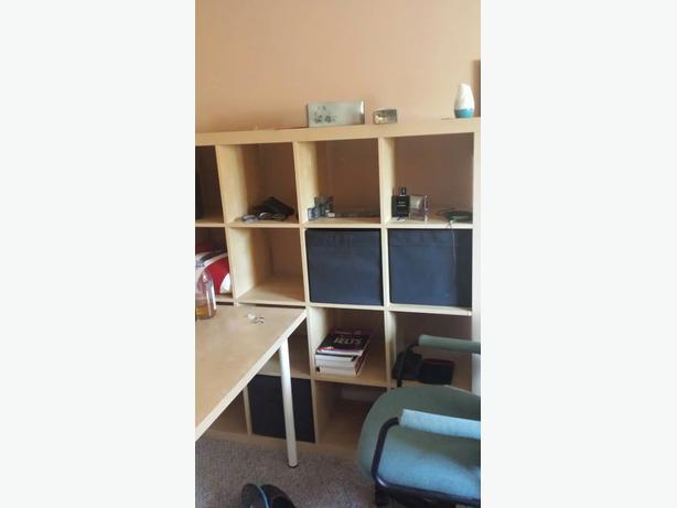 4 4 ikea book case saanich victoria. Black Bedroom Furniture Sets. Home Design Ideas