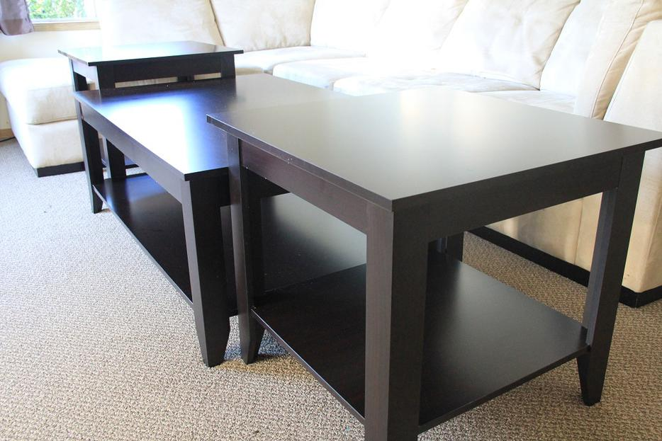 Coffee table and 2 end tables saanich victoria for Coffee tables kelowna