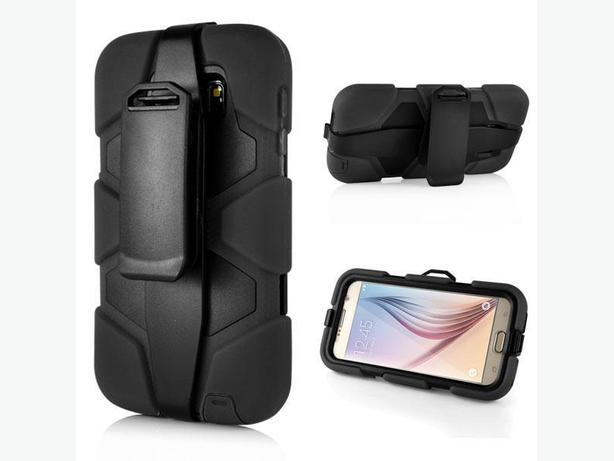 Samsung Galaxy S6 Defender Style Case with Belt Clip