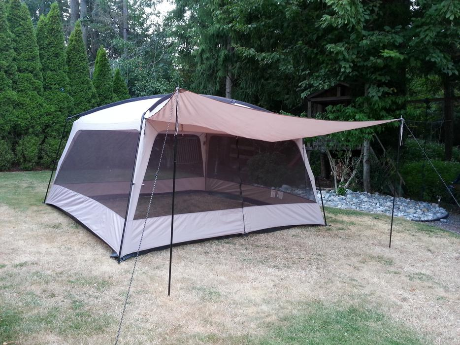 Screen Tent North Nanaimo Parksville Qualicum Beach Mobile