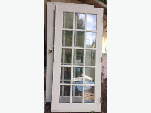 Exterior French Doors West Shore Langford Colwood Metchosin Highlands Victoria