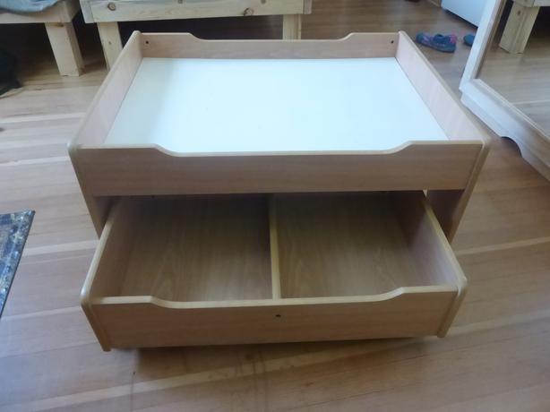 kids play table with storage drawers victoria city victoria. Black Bedroom Furniture Sets. Home Design Ideas