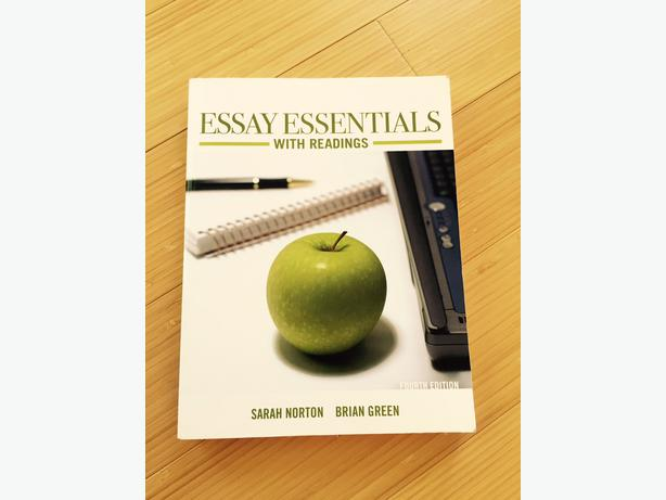 Essay essentials with readings custom edition
