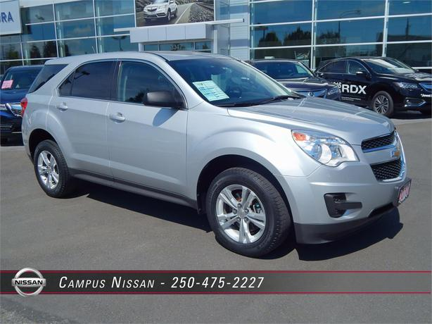 2010 chevrolet equinox ls awd outside nanaimo parksville. Black Bedroom Furniture Sets. Home Design Ideas