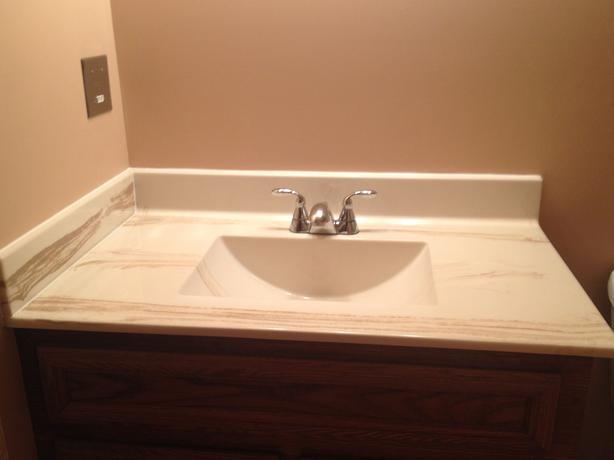 Bathroom Sink Brands : Brand new bathroom sink top (minus the tap) for sale. Sink is still in ...