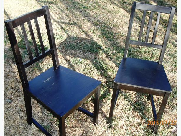 two retro ikea black table chairs esquimalt view royal victoria. Black Bedroom Furniture Sets. Home Design Ideas