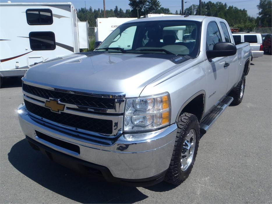 Chevrolet Silverado 2500hd Gatineau >> 2012 Chevrolet Silverado 2500HD Extended Cab Short Box 4WD Outside Cowichan Valley, Cowichan