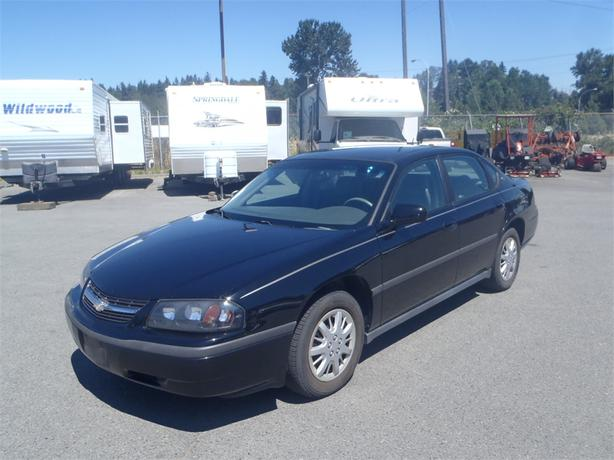 2005 chevrolet impala base sedan outside comox valley. Black Bedroom Furniture Sets. Home Design Ideas
