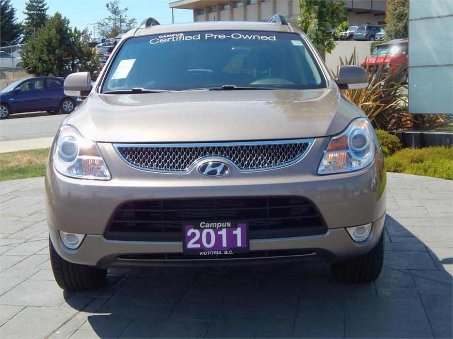 2011 Hyundai Veracruz Gl W Prem Pkg Awd Outside Nanaimo