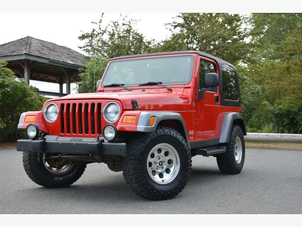 2004 Jeep Tj Wrangler Rocky Mountain Edition 4 0l I 6