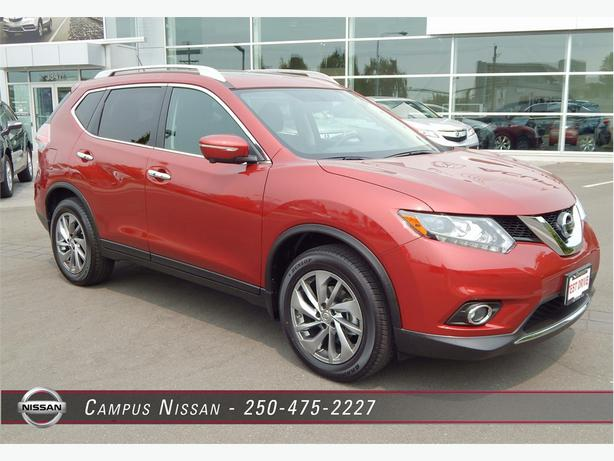 2015 nissan rogue sl awd w leather outside nanaimo parksville qualicum beach. Black Bedroom Furniture Sets. Home Design Ideas
