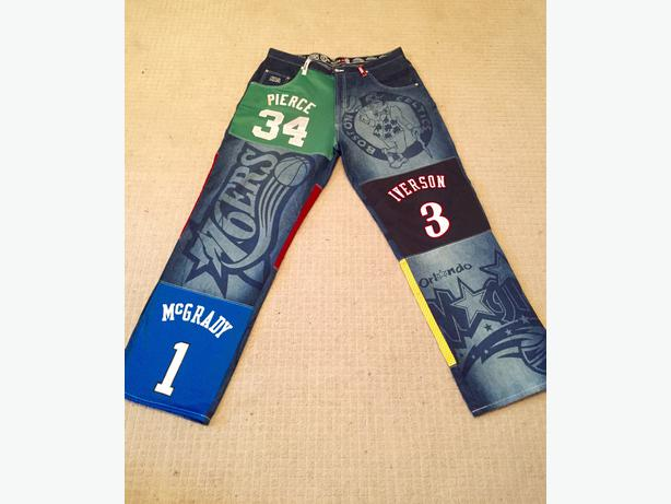 NEW CONDITION NBA UNK BASKETBALL JEANS SIZE 40-42