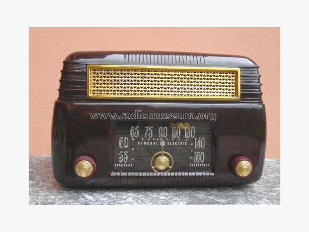 Working Antique Radio GE 202 ID = 235315