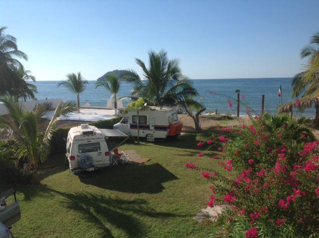Oceanfront RV Sites 1 Hour North Of Puerto Vallarta