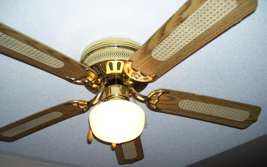 Ceiling Fan 4 Blade Works Great Excellent Condition Kanata
