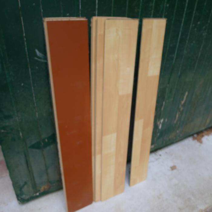 Free left over interlocking wood flooring saanich victoria for Hardwood flooring york region