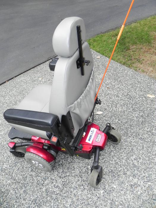 Motorized Wheelchair Reduced For Quick Sale Outside