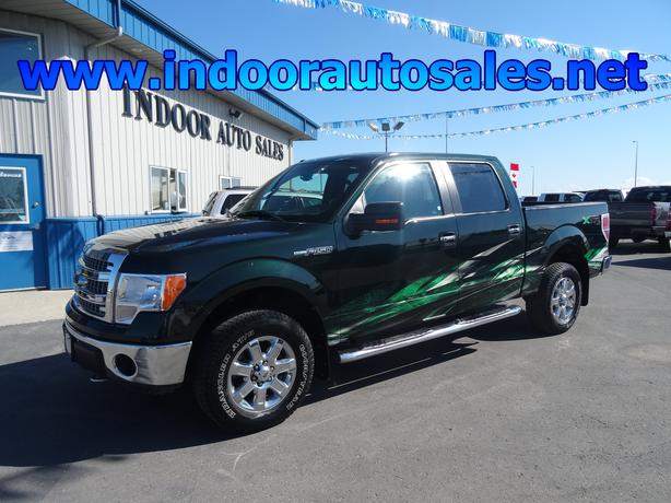 Auto Sale Winnipeg: 2013 Ford F150 XLT XTR 4WD #1298 Indoor Auto Sales