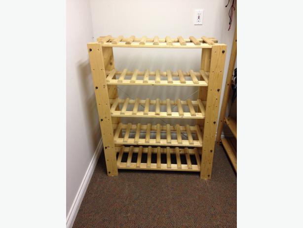 Ikea gorm wine rack saanich victoria for Ikea wine shelf