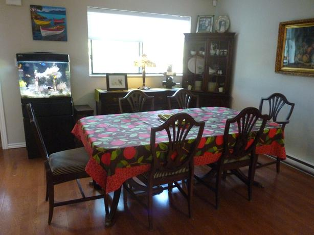 Duncan Phyfe Dining Room Table Price Drop Saanich Victoria