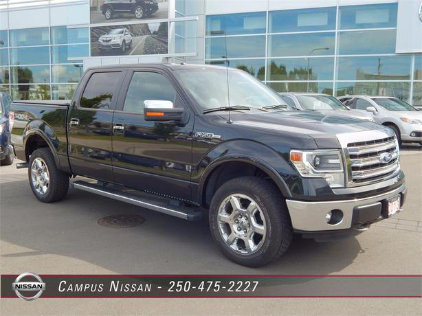 2013 ford f 150 lariat crew cab outside nanaimo nanaimo. Black Bedroom Furniture Sets. Home Design Ideas