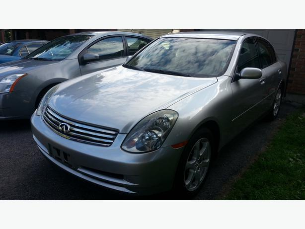 Log in needed 7 450 183 2004 infiniti g35x luxury sedan with safety