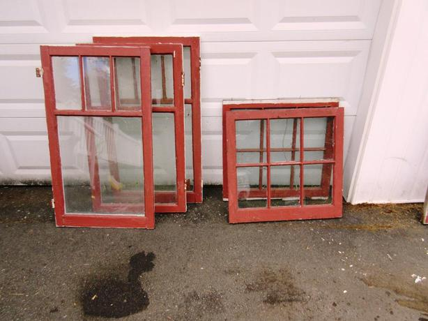 Old Wooden Single Pane Windows