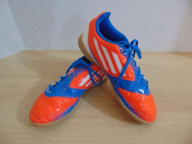 Soccer Shoes Cleats Childrens Size 4 Adidas F50 Indoor ...
