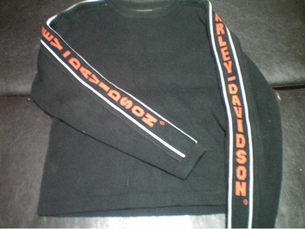 Thick Harley Davidson sweater