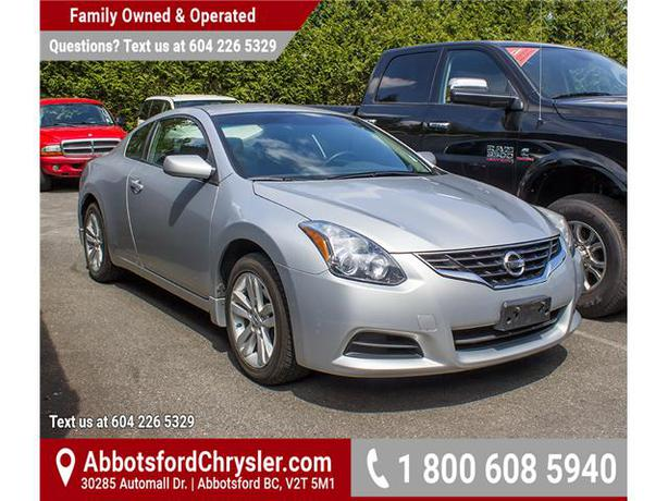 In needed  15 499   183  2010 Nissan Altima 2 5S  AB0463  -2 Door CoupeNissan Altima Coupe 2010 Silver