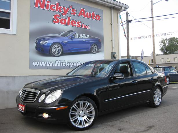 2007 mercedes benz e550 4matic awd navigation loaded for 2007 mercedes benz e550
