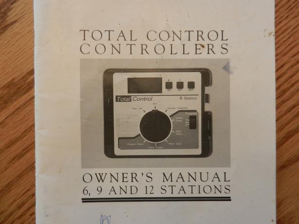 Lawn Sprinkler System 6/9/12 zone controller