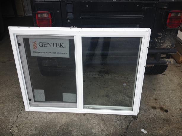 1 new gentek series 80 vinyl window 48 1 2 x 36 1 4 for Window 48 x 36