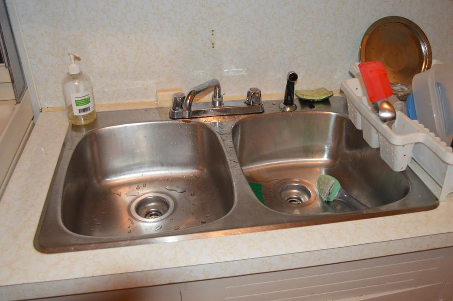 Kitchen Cabinets Counter Tops Stove Exhaust Vent And