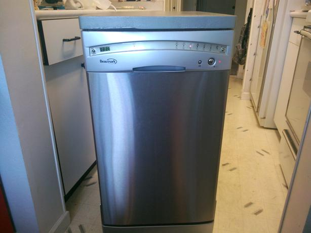 "18"" APARTMENT SIZE STAINLESS STEEL PORTABLE DISHWASHER ..."