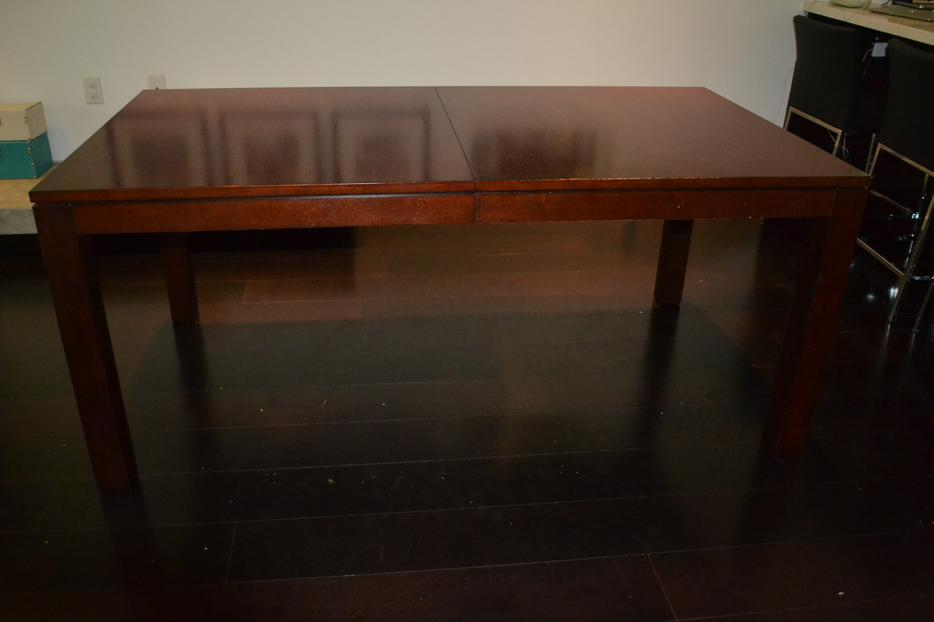 Ethan allen dining table plus chairs vancouver city