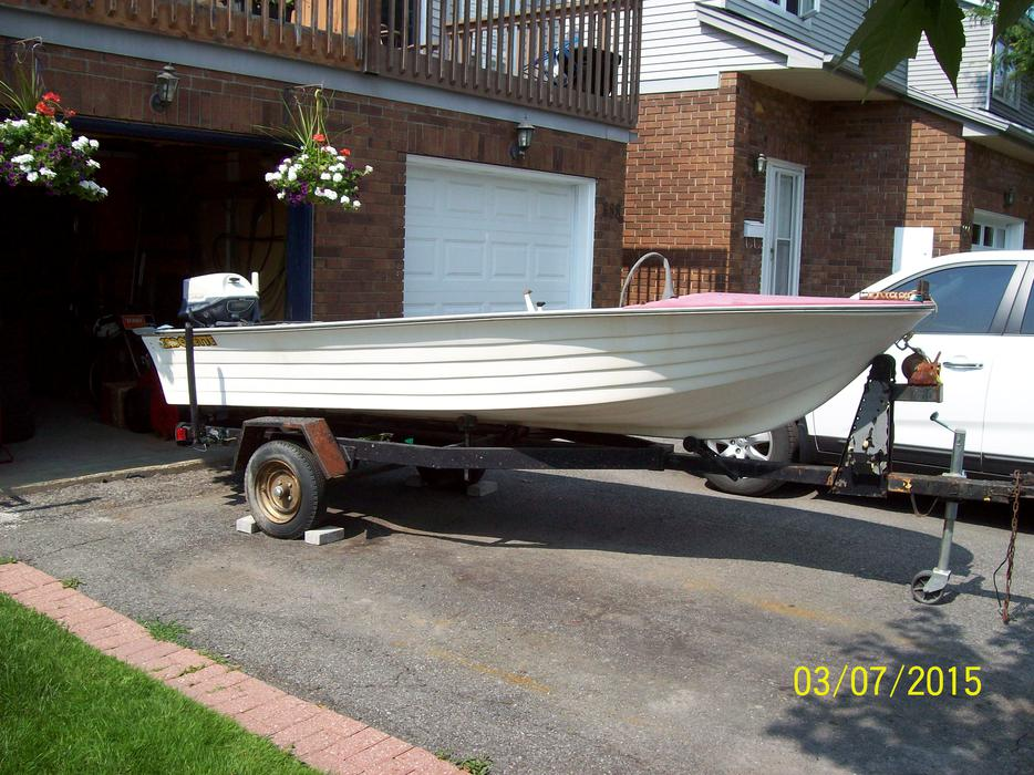 Boat Outboard Motor And Trailer Orleans Ottawa